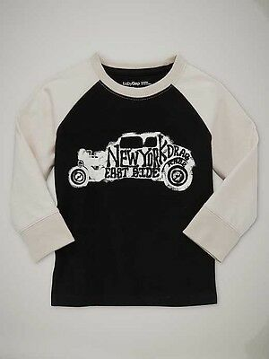 New Gap New York Graphic Top Size 12-18M