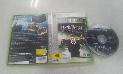 Harry Potter Order of The Phoenix Xbox 360 Game USED PAL Region