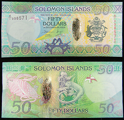 Solomon Islands Banknote 50 Dollars 2013 UNC