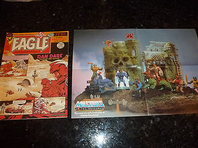 EAGLE Comic - Date 11/06/1983 - Inc MASTERS OF THE UNIVERSE FLYER - UK