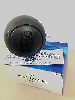 NEW OEM FORD  KNOB CONTROL LEVER WITH MANUAL TRANSFER DRIVE CASE 4L3Z-7213-AB