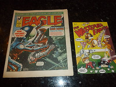 EAGLE Comic - Date 22/10/1983 - Inc THE WASTEFUEL FAMILY FLYER Mo 5 - UK Comic