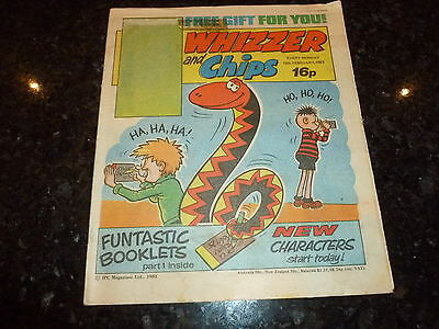 WHIZZER & CHIPS Comic - Date 12/02/1983 - UK Paper Comic 16p