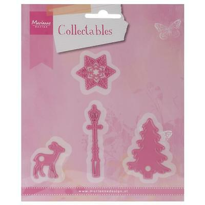 Marianne Design Collectables Dies ~ Christmas Village Decoration, COL1330 ~ NIP