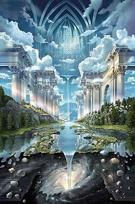 GENESIS II VISUAL ILLUSION  POSTER (61x91cm)  PICTURE PRINT NEW ART