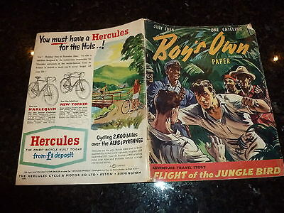BOY'S OWN PAPER Comic - Vol 78 - No 10 - Date 07/1956 - UK Comic