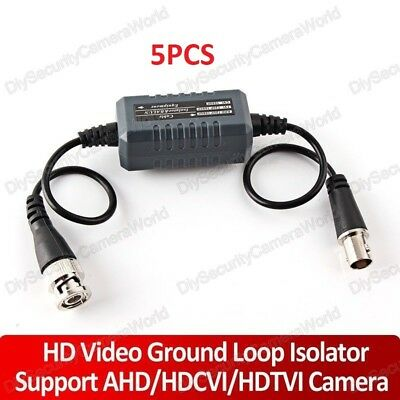 8PCS/Lot CCTV Video Ground Loop Isolator, Coaxial Cable, BNC (Fast Shipping)