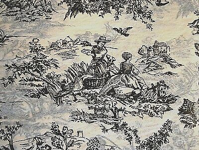 Black French Toile on Light Tan background Tissue Paper # 321 / Gift Paper
