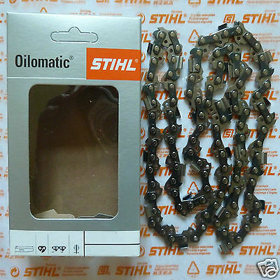 """14"""" 35cm Genuine Stihl MS181 MS180 018 Chainsaw Chain 3/8"""" PS3 1.3mm 50 Tracked"""