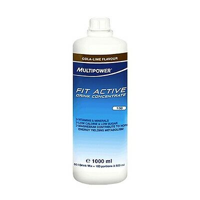 1000ml Multipower Fit Active Drink Concentrate, Sirup