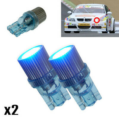 VW Polo 6N2 Blue LED /'Trade/' Wide Angle Side Light Beam Bulbs Pair Upgrade