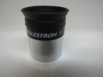 "Celestron 9mm Kellner Telescope High Power Fully Coated Eyepiece 1.25"" - New"