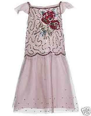 Girls Monsoon Dress 2 piece set outfit  Bouquet Wedding party bridesmaid pink