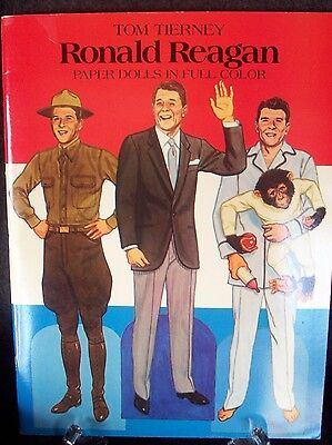 Ronald Reagan Paper Dolls - New - Dover 1984, 1st in Series by Tom Tierney