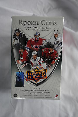 2007 - 2008 Upper Deck NHL Hockey Rookie Class Factory Sealed Box Set