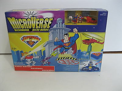 Microverse Superman Metropolis Micro Playset Set New In The Box