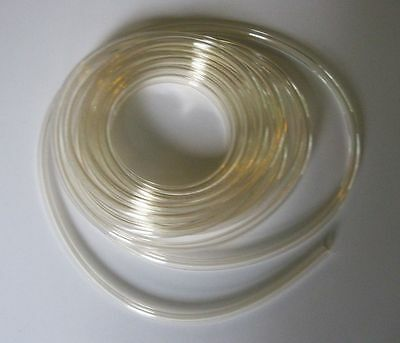 """5/16"""" Clear Plain Fuel Line by SPI (Sold by the Foot) 516FLC"""