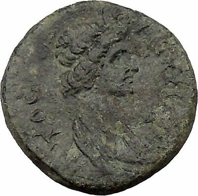 Hermocapelia in Lydia time of Hadrian 117AD Greek Coin Roman Senate Roma i36853