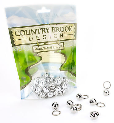 10 - Country Brook Design® 1/2 Inch Cat Jingle Bells