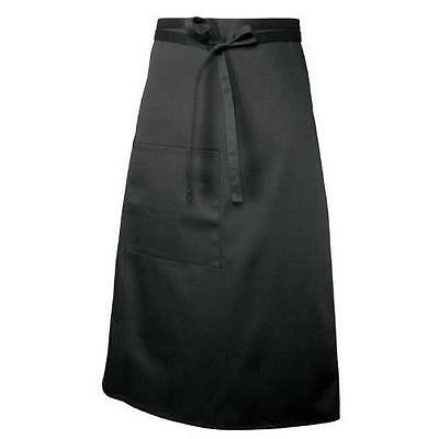 Chef Works - F24-BLK - Black Bistro Apron
