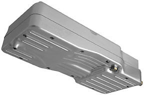 Baker +1 Oil Pan (1 Pc), Silver BD-5QTR 41-0984