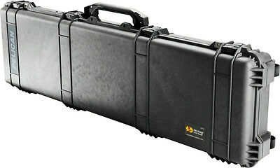 New Black Pelican ™ 1750 NF Case empty includes Free Engraved Nameplate