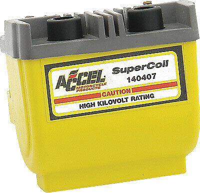 Accel - 140407 - Super Coil, Yellow 140407 274-0055 AC140407 21-0411