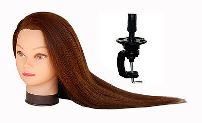 """*USA SELLER*  26"""" Cosmetology Mannequin Head 100% REAL HUMAN Hair @@ US SELLER"""