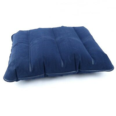 Megastore 247 - Travel Camping Pillow - Inflatable Head Rest Cushion - Blue