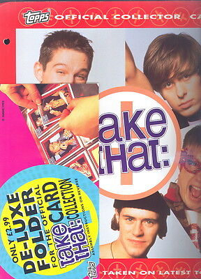 Take That 1993 uk OFFICIAL collector card album
