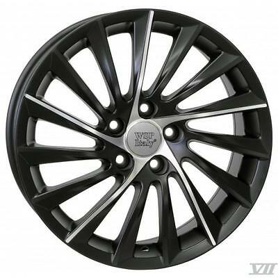 "18"" Alfa Romeo Sport Replacement Alloy Wheels Brand New Black Polished 256"