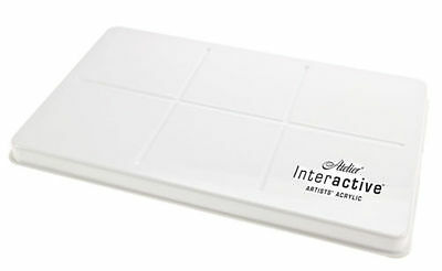 Atelier Interactive Stay Wet Acrylic Keep Wet Mixing Palette - Staywet