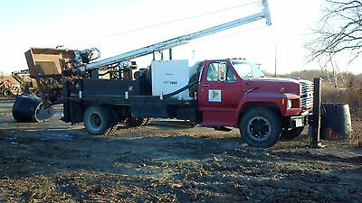 Simco 2800 drill truck geothermal