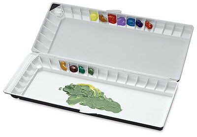 Mijello Silver Nano 40 Folding Watercolour Palette - 3040