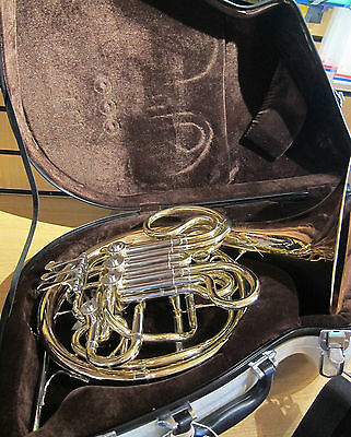 Eastman EFH520 4 Valve Double French Horn - Gold Brass Bell Intermediate model