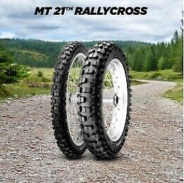 Pirelli Mt21 Rallycross Front Motorcycle Tyre 80/90-21 48P Dot Approve 61-034-14