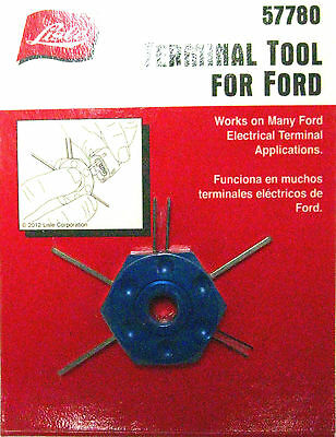 Lisle 57780 Wire Terminal Removal Tool Ford & Other Terminals Made in USA