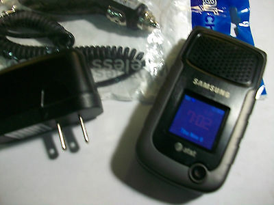 Samsung Rugby II 2 SGH-A847 Rugged PTT Camera GSM Flip AT&T Cell Phone GOOD USED