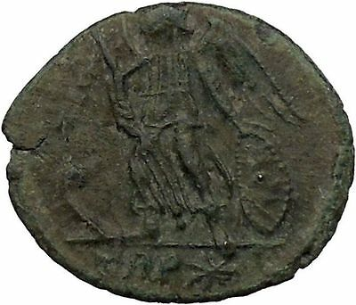 Constantine  The Great founds Constantinople Roman Coin Victory Cult  i37150