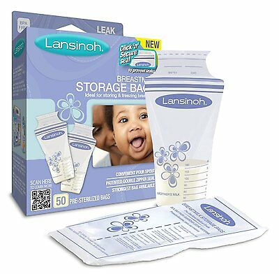 Lansinoh Milk Storage Bags x 50 - Best Price Around