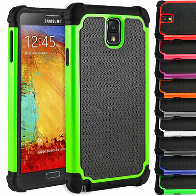 Shock Proof Defender Case Silicone Cover for Samsung Galaxy Note 3 N9000 N9005