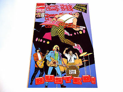 CHEAP TRICK Busted JAPAN PROMO ONLY COMICS BOOKLET Marvel Epic/Sony
