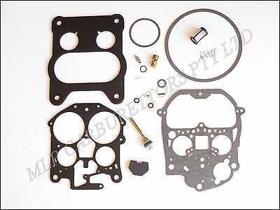 Holden WB. Commodore VC, VH, VK, VL V8 Rochester Quadrajet Carburettor Kit