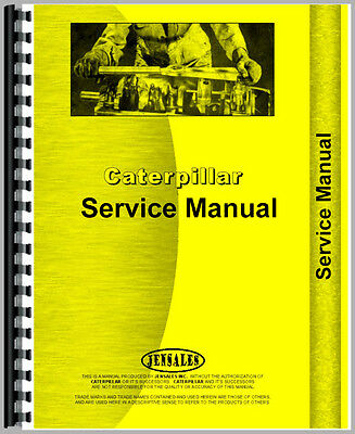 For Caterpillar 3204 Engine Service Manual (New)