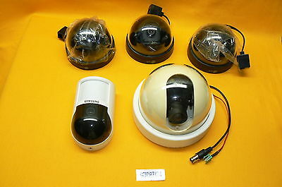 Lot of 5 Indoor Security Camara LG LVC-D100NM/LVC-D10NE SAMSUNG OC-P120