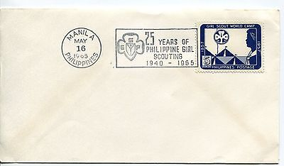 Philippines 1965 25 Years od Girl Scouting Cover