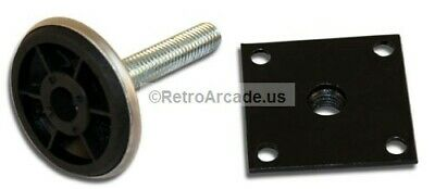 2 Inch Heavy Duty Leg Levelers for Jamma, Mame, Pinball and arcade game cabinets