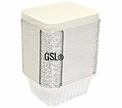 GSL No2 Heavy Duty Catering Grade Aluminium Foil Food Storage Containers & Lids