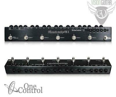 NEW! One Control CHAMAELEO TAIL LOOP MARK II - Pedal Switcher - 5/CH 6/DC