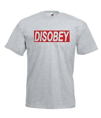 DISOBEY hip hop music gift NEW xmas birthday gift ideas boys girls top T SHIRT